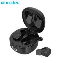 Mixcder X1 Pro TWS Écouteurs aPTX Fonction Qualcomm puce lumière De Stérilisation UV BT5.1 avec USB-C Chargeur Sans Fil Écouteurs