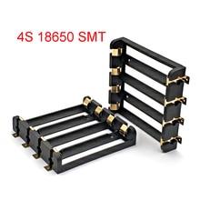 Banca di potere del contenitore della cassa di immagazzinaggio della scatola del supporto di batterie di serie 4x18650 con i perni di bronzo commercio allingrosso ricaricabile della nave di goccia