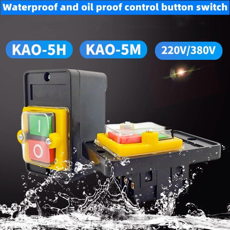 1 шт. кнопочный переключатель прочный стенд сверлильный станок машина для резки шлифовальный станок водонепроницаемый аксессуары на включ...