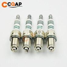 4 قطعة/الوحدة CCQAP IK16 5303 سيارة Bujias ايريديوم شمعة اعة لتويوتا نيسان هوندا IK16 5303