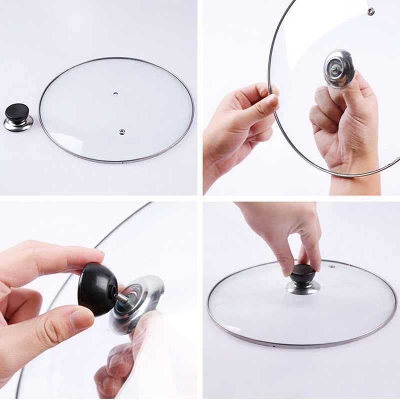 1 шт. Кухня крышку для утвари крышка термостойкая посуда Замена посуда круглая Holding ручные кухонные принадлежности