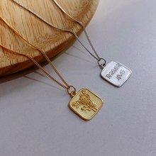Amaiyllis 925 пробы Серебряное минималистичное ожерелье с розовыми