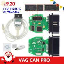 VAG CAN PRO V5.5.1 с FTDI FT245RL чип VCP OBD2 Диагностический интерфейс USB кабель Поддержка Can Bus UDS K Line