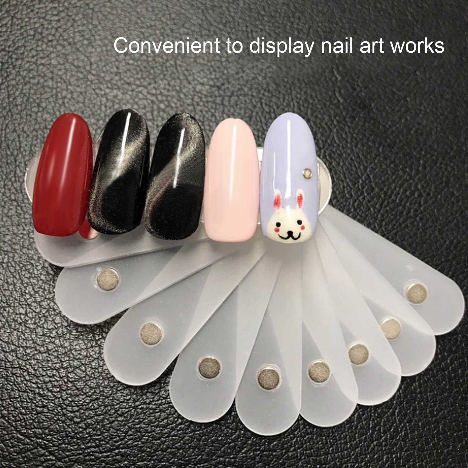 10 шт., подставка для демонстрации накладных ногтей