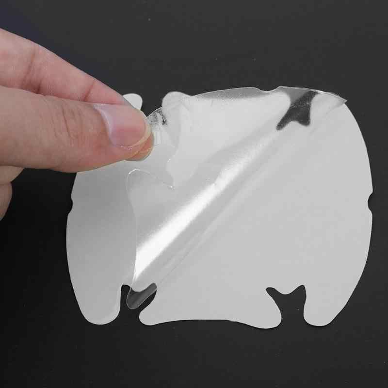 4 pçs universal maçaneta da porta do carro arranhões guarda protetor adesivo capa protetora invisível limpar filme uretano 3 m