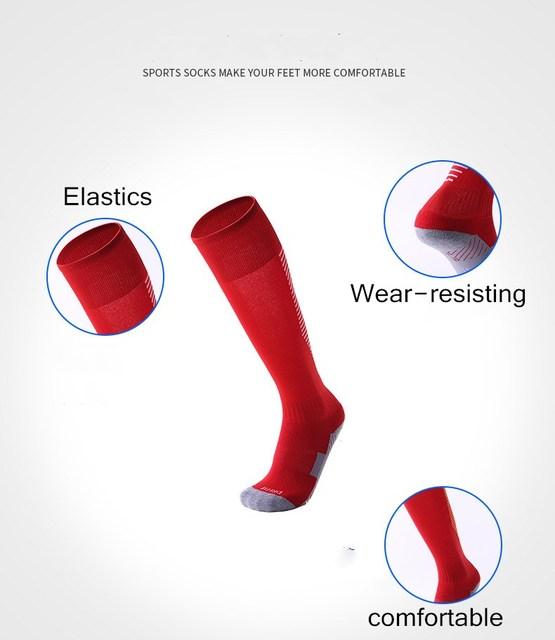Women Men sport Socks running socks Male Kids Cotton Polyester Stocking Sports Football Soccer Sock Anti Slip