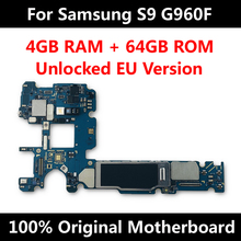 Officiële Telefoon Moederbord Voor Samsung Galaxy S9 G965F G960F G965U G960U G965FD G960FD Mainboard Unlock Imei Os Logic Board