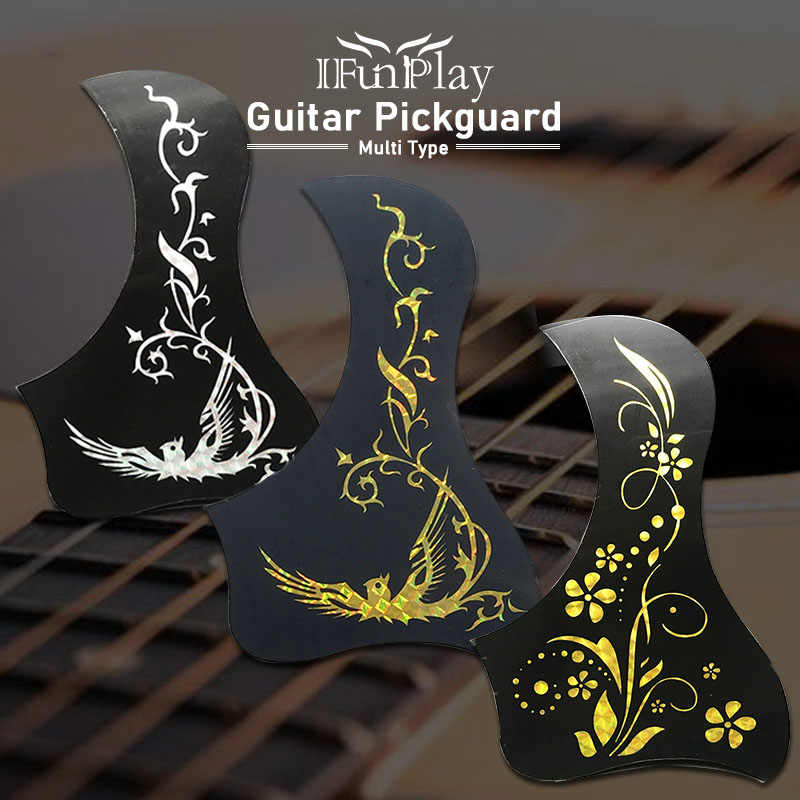 Professional Folk Acoustic Guitar Pickguard Self-adhesive Pick Guard Sticker for Acoustic Guitarra Accessories