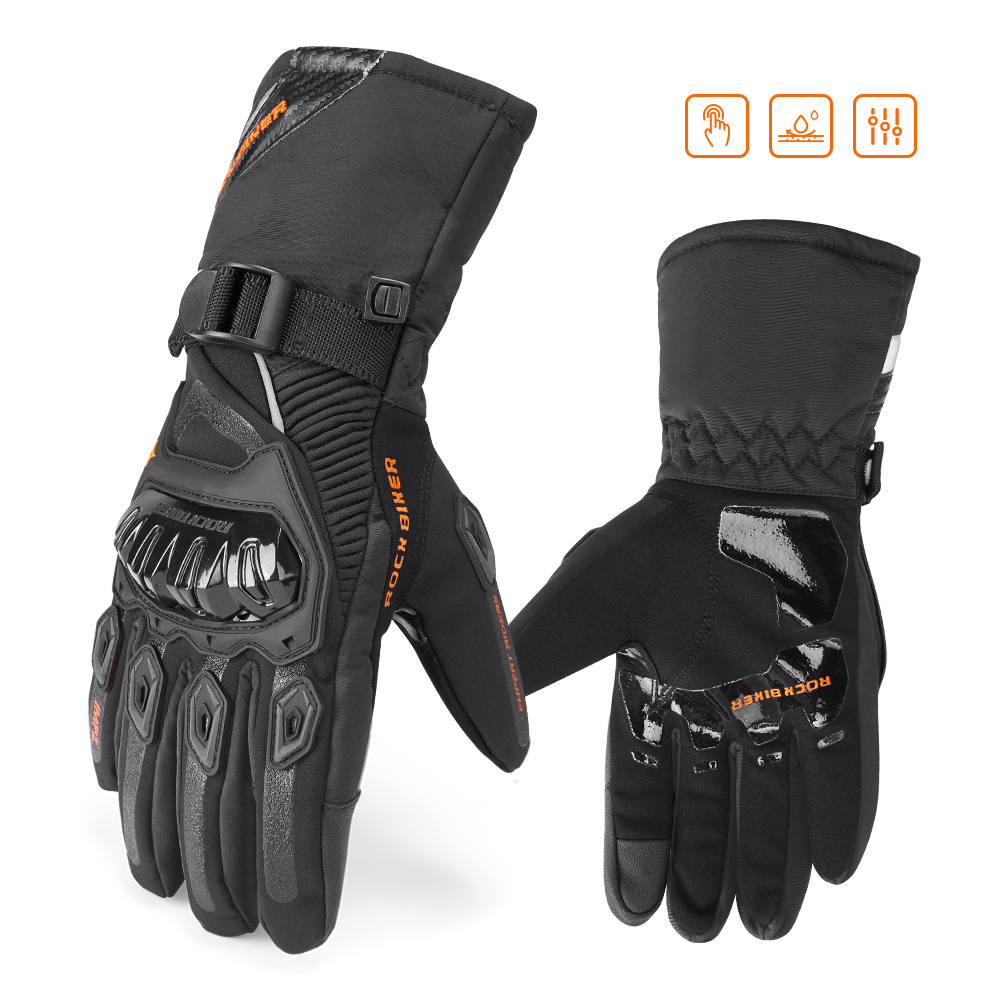 Motorcycle Winter Gloves Motor Racing Gloves Motocross Biker Waterproof Scooter Touch Screen For Honda For Yamaha For BMW