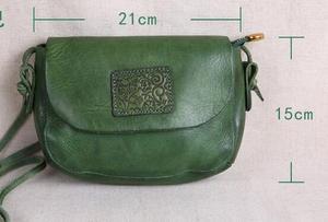 Image 5 - AETOO oryginalne torebki ze skóry ręcznie robione mini torebka sztuka ze skóry proste ramię retro kobiety Messenger mała torba kwadratowa