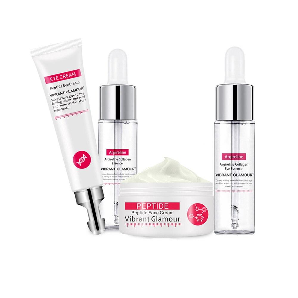 Collagen Face Cream Face Serum Eye Cream Hyaluronic Acid Anti Aging Wrinkle Remover Dark Circles Whitening Cream Skin Care