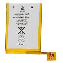 Bateria de substituição interna de íon de lítio, 1030mah 616-0621/om para ipod touch 5th 5g, baterias de geração