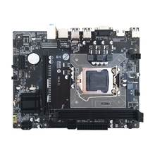H61m c Настольная компьютерная Материнская плата 1155 pin cpu