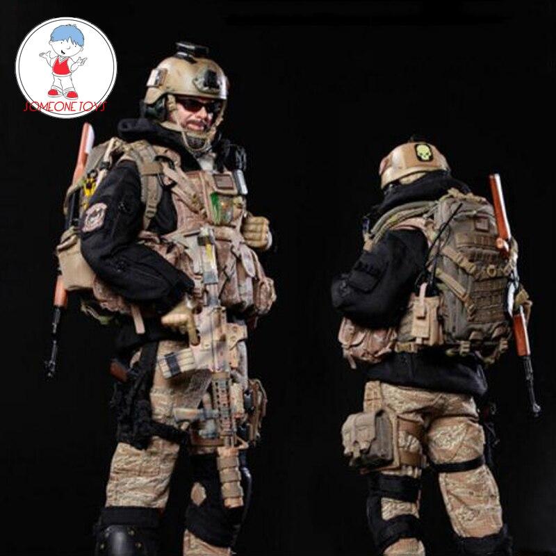 """Soldat militaire en bois de cithare de 1//6 échelle pour 12 /""""figure d/'action"""