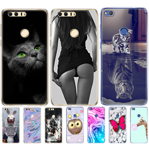 Image 1 - Case For huawei honor 8 silicon honor 8 lite phone cases soft TPU Phone Back cover full 360 Protective shell new design
