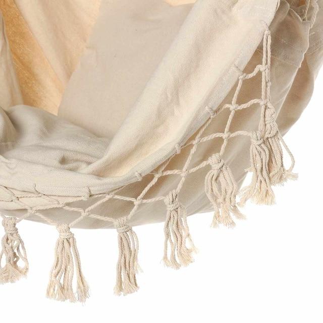 Bohemia Style Hanging Fabric Hammock  4