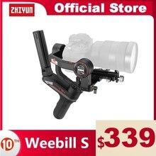 ZHIYUN Weebill S Camera Gimbal 3 Axis Image Transmission Stabilizer for Mirrorless Camera OLED Display Handheld Gimbals