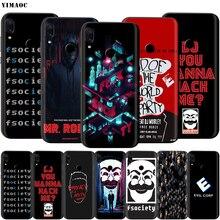 Mr Robot Case for Xiaomi Redmi MI Note MAX 3 6 6A 7 8 9 se A