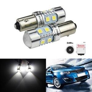 ANGRONG 2x BAW9s HY21W 64137L luz indicadora de marcha atrás lámparas LED laterales diurnas 10W