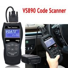 Nieuwe OBD2 VS890 Auto Code Scanner Vgate VS890 Obd 2 Auto Diagnose Scanner Vs 890 Canbus Multi Merk Auto VS890 diagnostic Tool