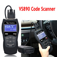 ใหม่OBD2 VS890เครื่องสแกนเนอร์รหัสรถVgate VS890 OBD 2เครื่องสแกนเนอร์วินิจฉัยอัตโนมัติVS 890 Canbusรถยนต์หลายยี่ห้อVS890เครื่องมือวินิจฉัย