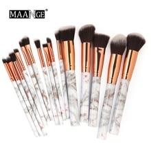 15pcs Makeup Brushes Set Foundation Eyebrow Powder Eyeshadow Eyelash Blending Brush Cosmetic Beauty Tools Kit  Pincel Maquiagem цены онлайн