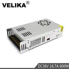 600W 16.7A 36V Power Supply Switch Led Driver Transformers AC110V 220V TO DC36V SMPS for Strip Modules Light CCTV 3D Printer CNC