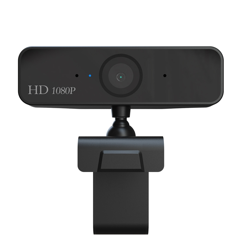 Webcam USB Camera Digital Full HD <font><b>1080P</b></font> <font><b>Web</b></font> <font><b>Cam</b></font> with Microphone Clip-On 2.0 Megapixel CMOS PC Camera for Computer image