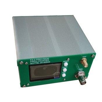 Бесплатная доставка FA-2 1Hz-6 ГГц счетчик частоты комплект частотомер статистических Функция 11 бит/сек + Мощность адаптер
