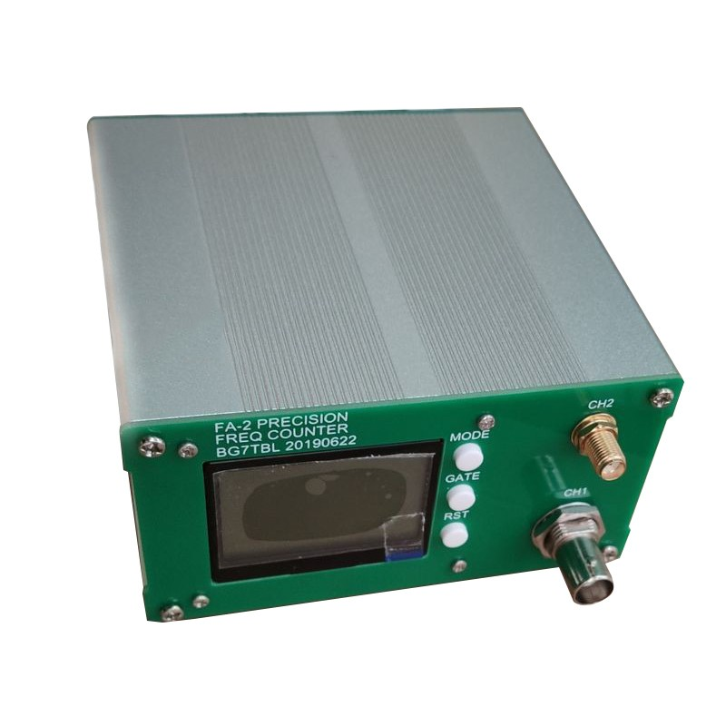 Free Shipping FA-2 1Hz-6GHz Frequency Counter Kit Frequency Meter Statistical Function 11 Bits/sec + Power Adapter