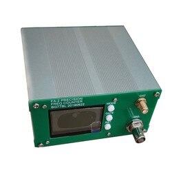 Frete grátis FA-2 1 Kit Medidor de Freqüência Hz-6 GHz Contador de Freqüência Função Estatística 11 bits/seg + adaptador de energia