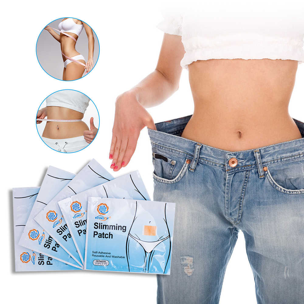50 Patches/Lot Afslanken Navel Sticker Afvallen Slim Patch Vetverbranding Patches Hot Body Shaping Afslanken Stickers