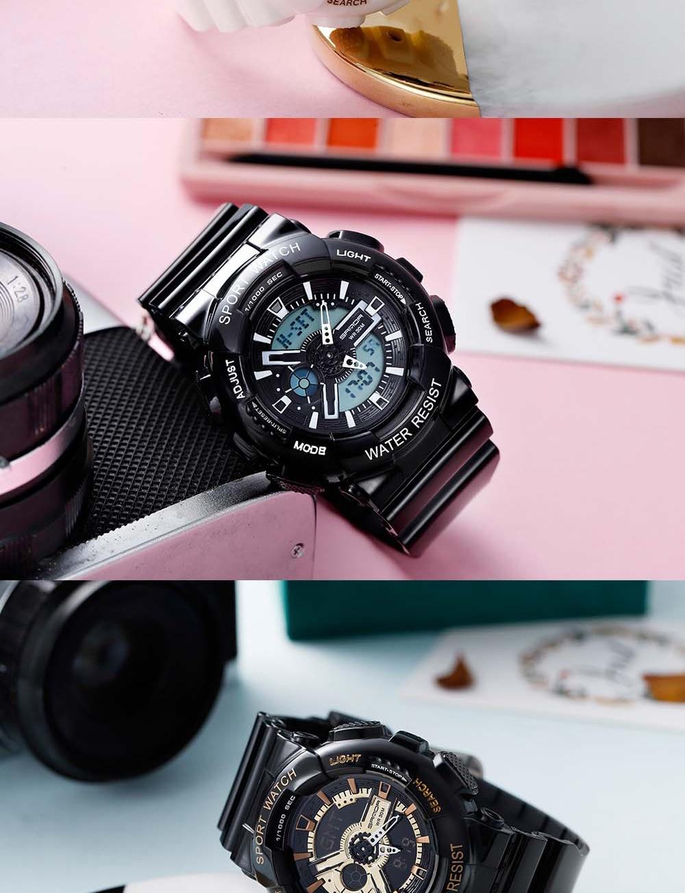 H43b696bd545746fcb5a70fb633eb6177n 2020 SANDA Military Men's Watch Brand Luxury Waterproof Sport Wristwatch Fashion Quartz Clock Couple Watch relogio masculino