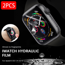 Hydrogel Film for Apple Watch 6 44mm Screen Protector Se for iWatch Series 5 4 3 2 1 High Clear Screen Protectors 40mm 42mm 38mm cheap ZHIXING CN(Origin) Easy to Install