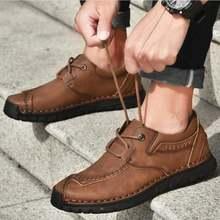 Новая мужская обувь из натуральной кожи размер 38 46 мягкая