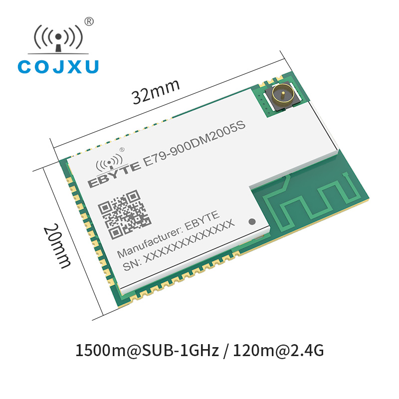 CC1352P 868MHz 915MHz PA ARM IoT SMD IoT Transceiver Module 2.4GHz E79-900DM2005S Transmitter And Receiver