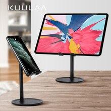KUULAA Mobile Phone Stand Holder for iPhone iPad Air Smartphone Metal Desk Deskt