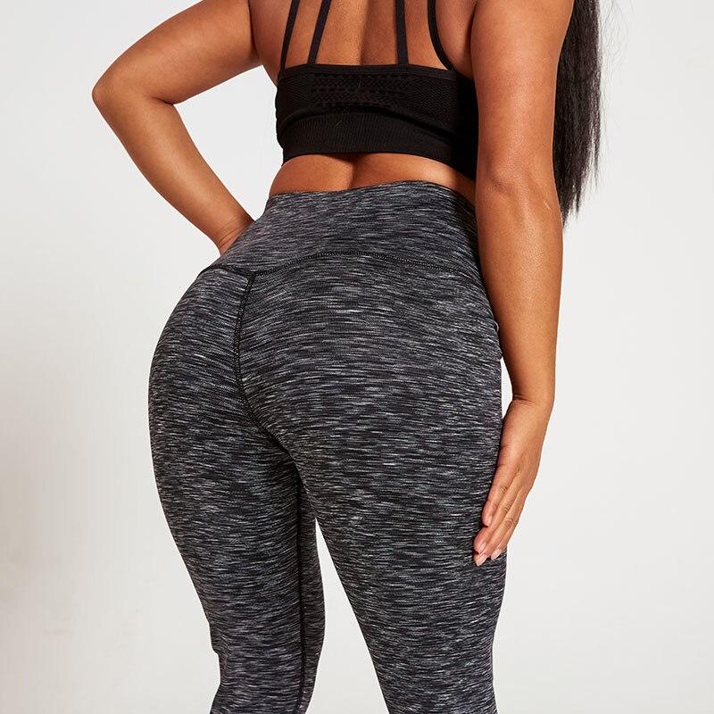 Fashion Push Up Fitness Leggings Women's Solid Female Jeggings Femme Black Stripe Leggins Mujer