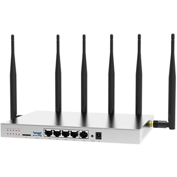 Wireless Wifi Router with SIM Card Slot 4G LTE Modem Strong Wifi Stable Performance High Gain WiFi Signal Routers-EU Plug