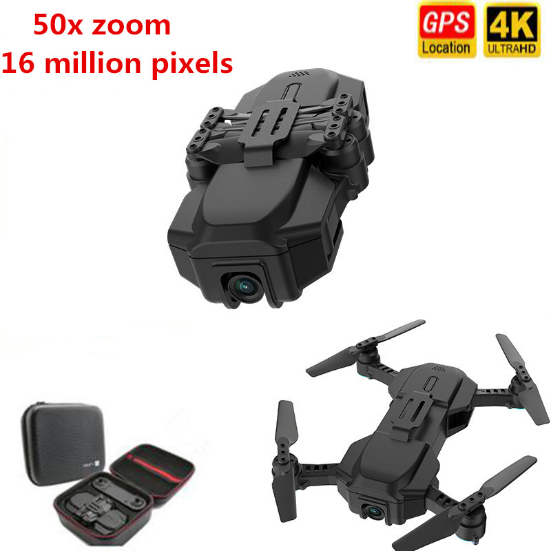 Hot sale GPS RC Drone 4K HD Camera Quadcopter Optical Flow WIFI FPV With 50 Times Zoom Foldable Helicopter Professional Drones image