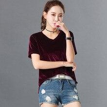 2020 New Summer Women Shorts Sleeve 100% Cotton Tshirts Fashion Casual Ladies