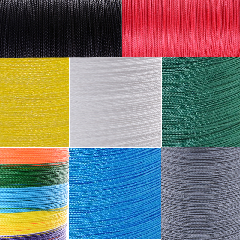 Japan Multifilament fishing line 500M/547yards strong pe braided line 4x super braided wire super fishing cord for sale rope