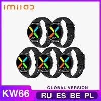 Imilab Smart Watch Bluetooth 5,0 reloj inteligente de seguidor de actividad/deporte IP68 Smart watch es para hombres y mujeres deportes pulsera