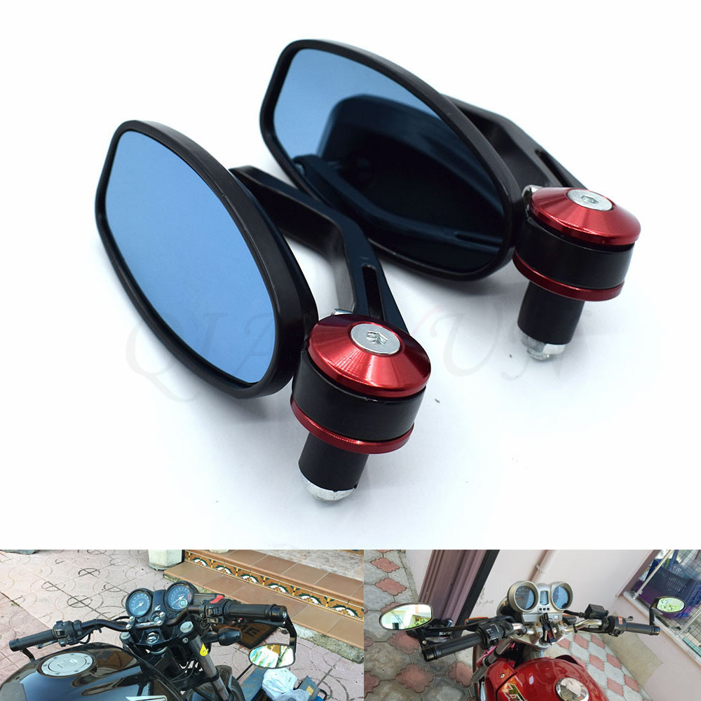 Motorcycle Mirror View Side Rear Mirror For <font><b>Benelli</b></font> BN300 BN302 BN600 BN <font><b>TNT</b></font> 300 600 Honda GROM MSX125 MSX 125 PCX 125 150 image