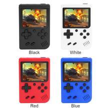 새로운 3 인치 핸드 헬드 레트로 게임 콘솔 8 비트 게임 플레이어 내장 400 게임 클래식 핸드 헬드 게임 플레이어 어린이를위한 게임 패드