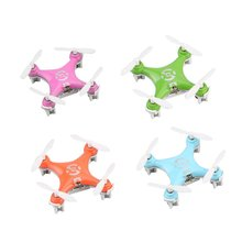 CX-10 Mini Drone 2.4G 4CH 6 Axis LED RC Quadcopter Toy Helicopter Pocket Headles