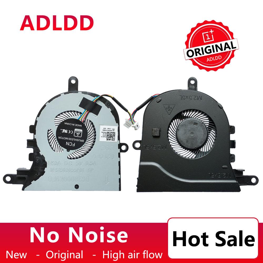New CPU Cooler Fan Para Dell Latitude 3590 E3590 L3590/ Inspiron 15-5570 15-5575 FX0M0 0FX0M0 CN-0FX0M0 0FGCF7 5V 0.5A Radiador