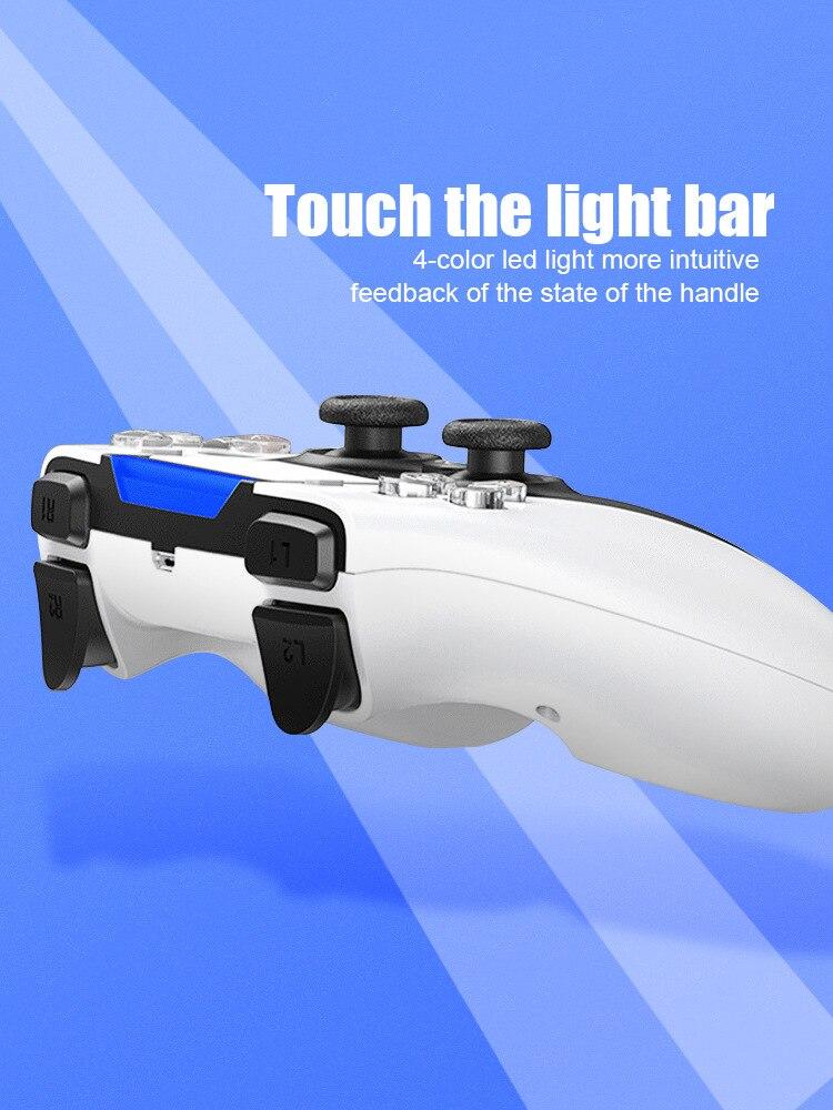 vibração dupla gamepad para o telefone de pc android joysticks gamepad