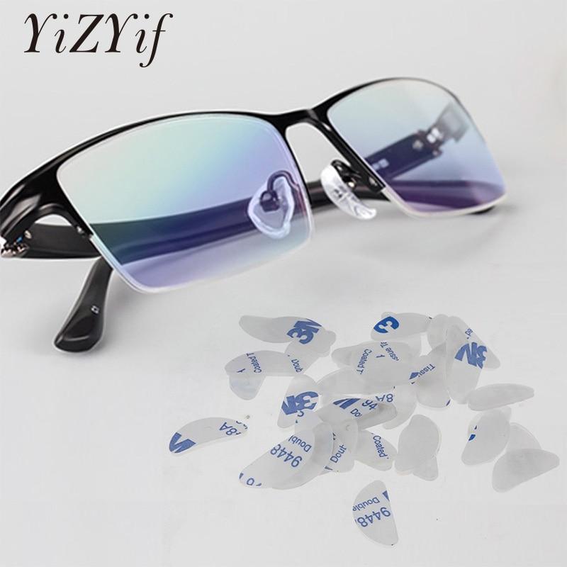 20 Par Okulary Noski Miekkie Hipoalergiczny Klej Anti Slip Silikonowe Noski Uchwyty Okulary Do Okularow Okulary Noski Akcesoria Aliexpress