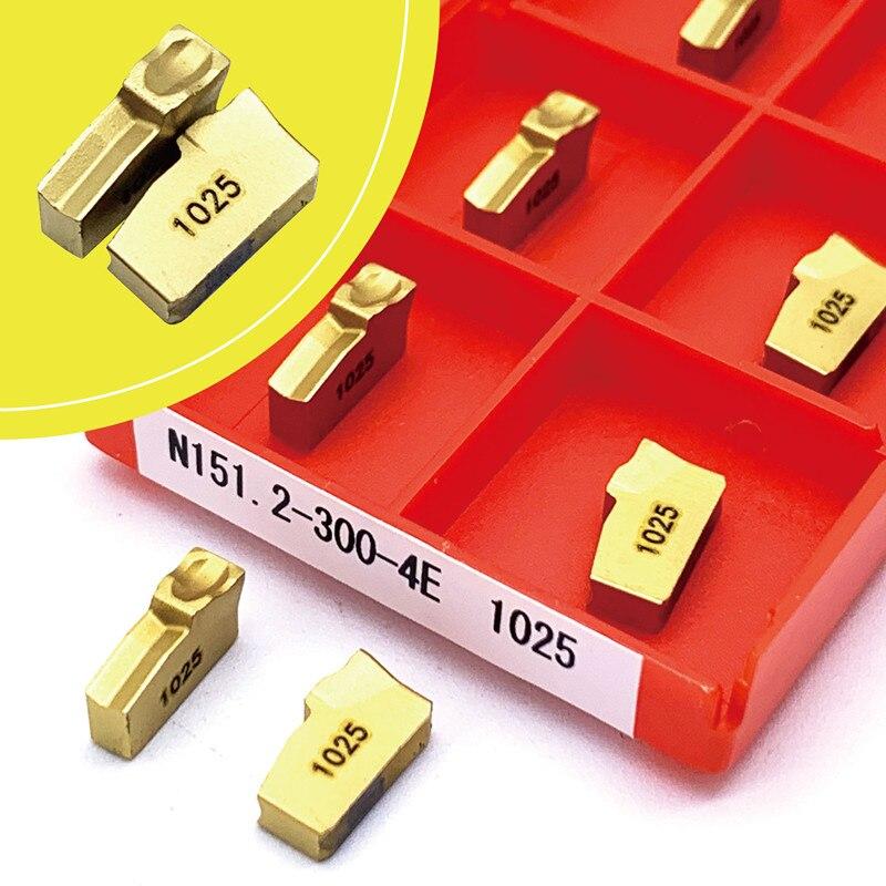 Твердосплавные вставки для канавок, токарный инструмент N151.2, токарный инструмент с ЧПУ, инструмент для обработки канавок, для токарного ста...